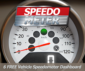 Online Vehicle Speedometer Dashboard